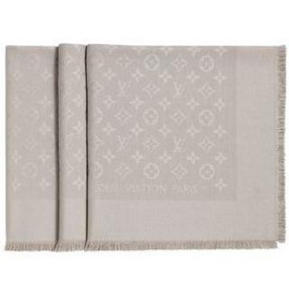 Louis Vuitton Beige Shawl Scarf