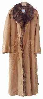 Ermanno Scervino : Wool & Mink Extra long coat