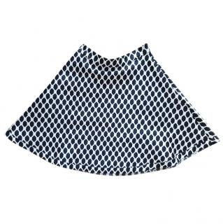 Diane von Furstenberg diamond skirt