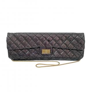 Chanel Black Reissue Quilted Classic Calfskin Bag