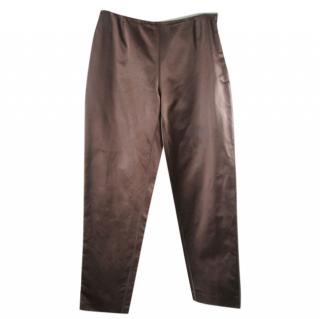 Prada Silk Trousers