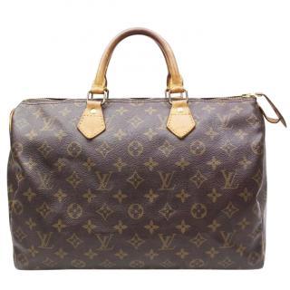 Louis Vuitton Speedy 35 Monogram 10617 Hand Bag