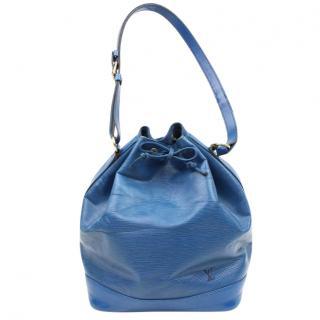 Louis Vuitton Noe Blue Epi 10618 Shoulder Bag