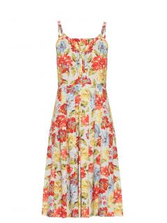 Emilia Wickstead 'Juliet' Floral Print Dress