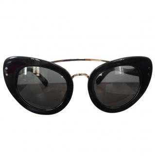 Linda Farrow Cat Eye Sunglasses by Erdem