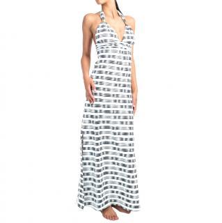 Heidi Klein 'Le Boheme' Halter Maxi Dress