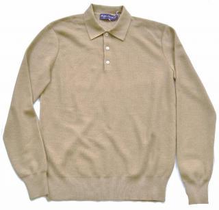 Ralph Lauren Purple Label cashmere-silk beige jumper
