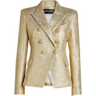 Balmain Gold Blazer