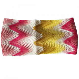 Missoni Mare Zigzag Knit Headband