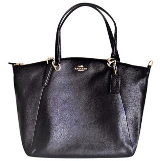 Coach Pebbled Leather Satchel