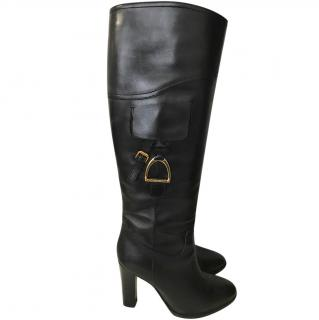 Ralph Lauren Collection Black Boots