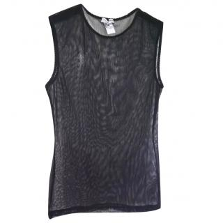 Dolce & Gabbana sheer black top