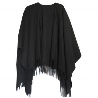 Moschino black cape