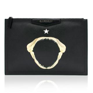 Givenchy Jaws Printed Pouch