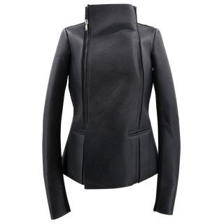 Rick Owens Lilies Black Biker Jacket