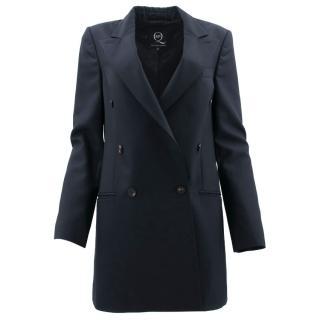 McQ Alexander McQueen Navy Wool Blazer
