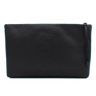 Alexander McQueen Black Leather Pouch