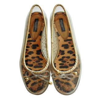 Dolce & Gabbana Bow Flats