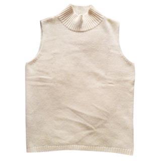 MaxMara Sleeveless Turtle Neck Sweater