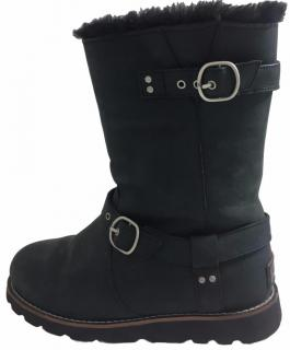 UGG Boots With Buckles.