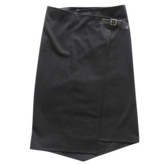 I Blues Club Asymetric Buckle Skirt
