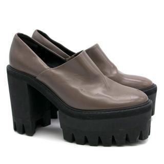 Stella McCartney Grey Monster Shoes