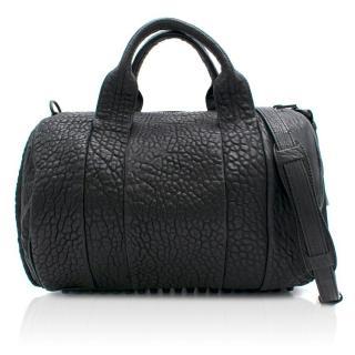 Alexander Wang Rocco Duffel Black Leather Bag