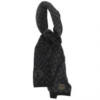 Louis Vuitton Grey Damier Scarf