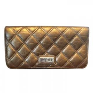 Chanel Bronze Quilted Purse