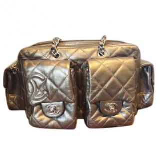 Chanel Bronze Quilted Bag
