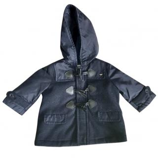 Armani Baby Navy Coat