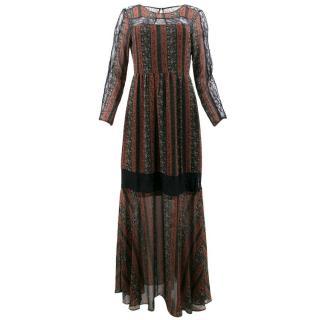 BCBG Generation Pattern Maxi Dress