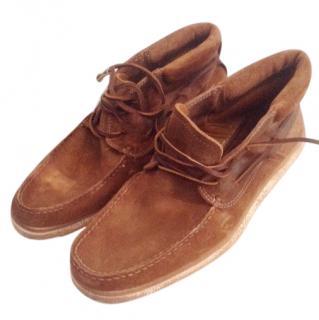 NDC 'Made by Hand' Kudu leather boots, (44), BNWB, beautiful quality.