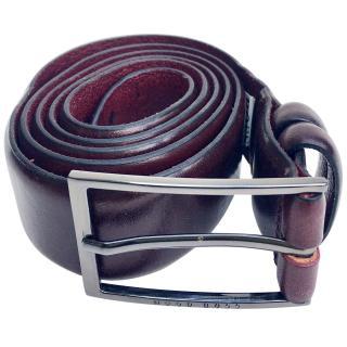 Hugo Boss burgandy belt