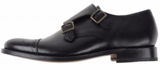 GRENSON  double buckle, new in box Oxford