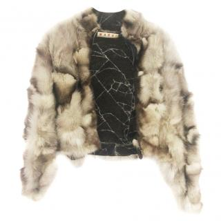 Marni Fox Fur Jacket