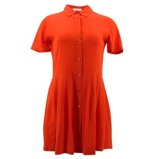 Equipment Naomi Red Silk Dress