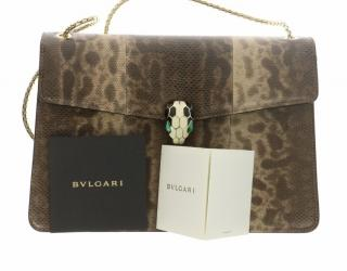 Bulgari Serpenti Lizard Bag