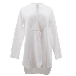 Neil Barrett White Oversized Shirt