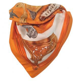 Hermes Silk Scarf 90 X 90