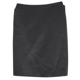 Yves Saint Laurent Black Pencil Skirt