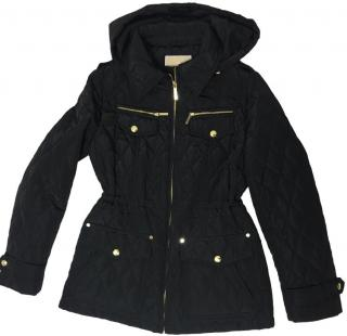 Michael Michael Kors Black Quilted Jacket.