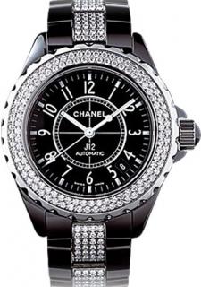 Chanel J12 Automatique Black& Diamonds