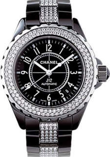 Chanel J12 Automatique Black& Diamonds