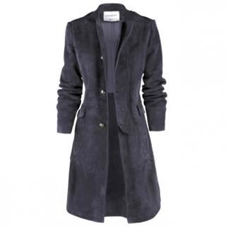 YSL suede coat