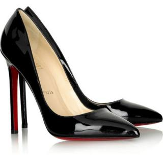 Christian Louboutin Pigalle Patent Black
