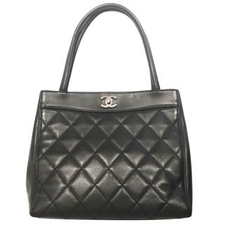 Chanel shoulder bag in quilted leather
