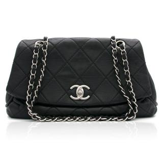Chanel Black Quilted Leather Bag