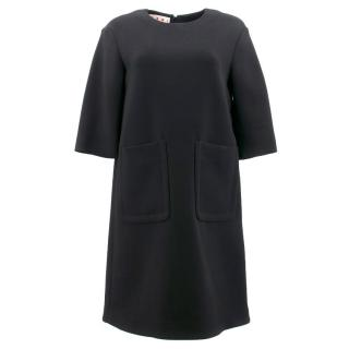 Marni Black Wool Dress