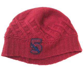 Chanel Red Cashmere No.5 Beanie